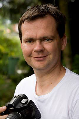 Portrait of Commercial Photographer Peter Drought.